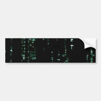 write041 car bumper sticker