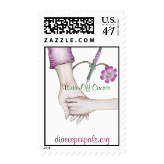 Write-0ff Cancer Postage Stamp