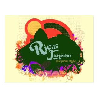 Write about Rio de Janeiro Postcard