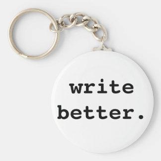 Write Better Keychain