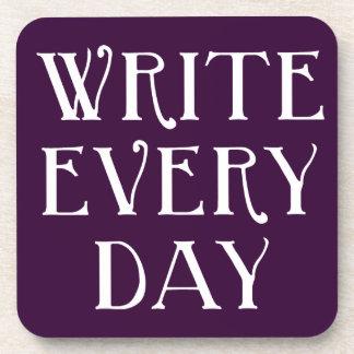 Write Every day Coaster
