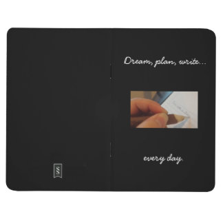 Write Every Day Journal, black Journal