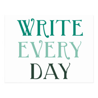 Write Every Day Postcard