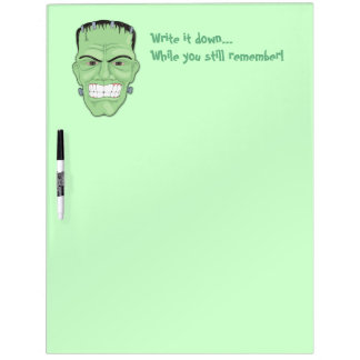 Write it down while you still remember Whiteboards