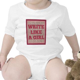 Write Like a Girl Lipstick Romper