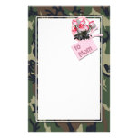 Write often...Mom misses you, too! Customized Stationery
