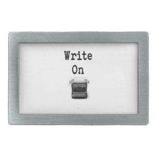 Write On Belt Buckle
