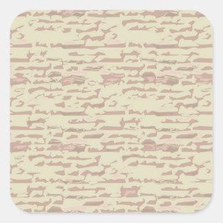 Write On  MultiColor Multi Image Light Shade Square Sticker