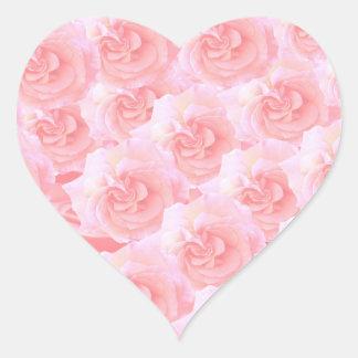 Write On  MultiColor Multi Image Light Shade Heart Sticker