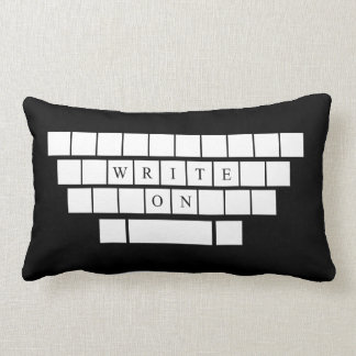 Write On - Pillow - Gifts for Aspiring Writers
