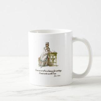 Write On Says Jane Austen Coffee Mug