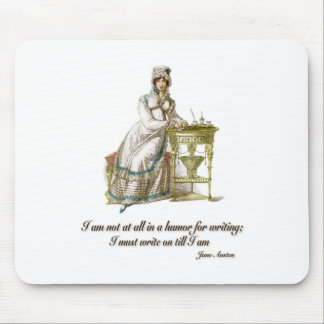 Write On Says Jane Austen Mouse Pad
