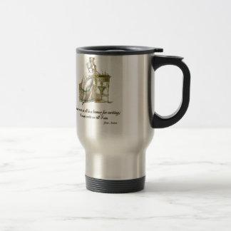 Write On Says Jane Austen Travel Mug