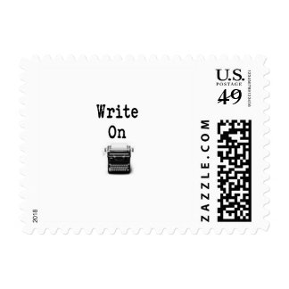 Write On Stamp