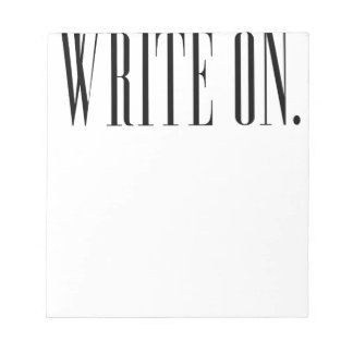 Write On (Ver 1) Notepad