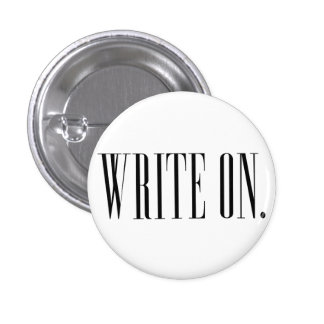 Write On (Ver 1) Pinback Button