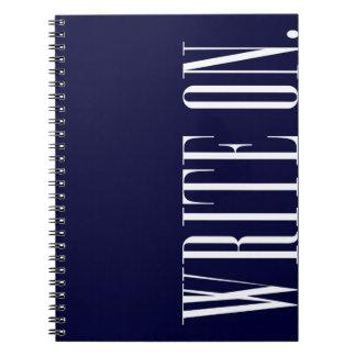 Write On (Ver 1) Spiral Notebook