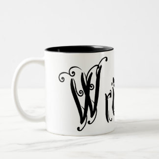 Write On (Ver 2) Two-Tone Coffee Mug