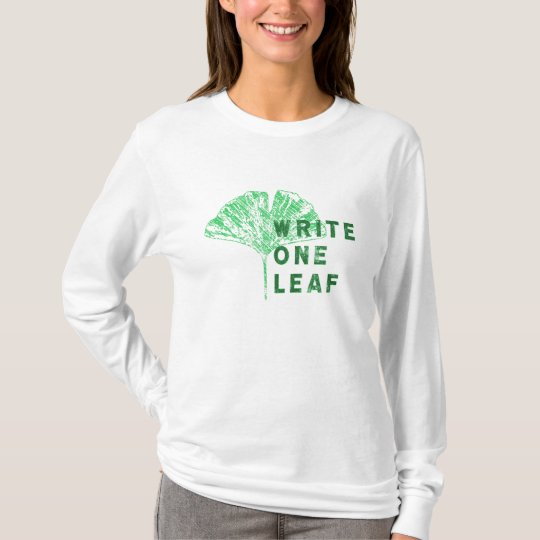 Write One Leaf Merch | Gingko T-Shirt
