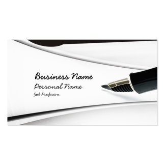 Write Profession Business Card