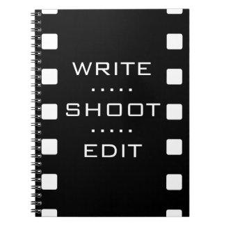 Write, Shoot, Edit - Film Strip Notebook