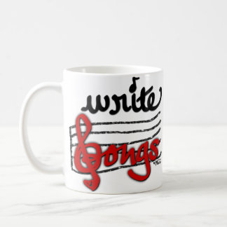 Write Songs Coffee Mug