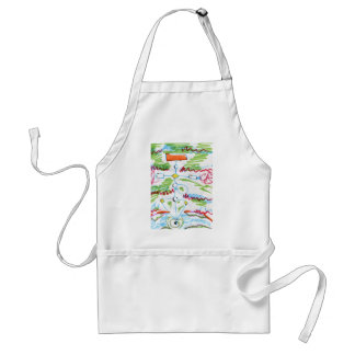 Write This Program and you Will Be Rich Adult Apron