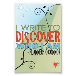 Write to Discover Photo Print