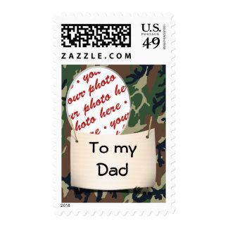 Write to your Dad often...He misses you, too! Postage Stamps