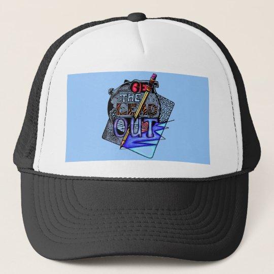 WRITE!!! TRUCKER HAT