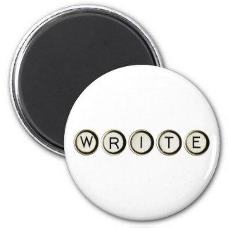 Write Typewriter Keys Magnet