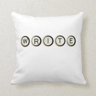 Write Typewriter Keys Pillow