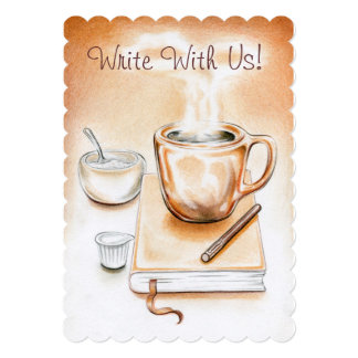 Write With Us! Card