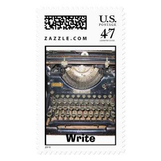 Write, Write Postage Stamp
