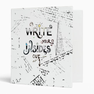 Write your Insides OUT! Binder