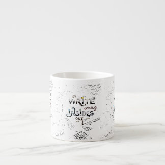 Write your Insides OUT! Espresso Cup