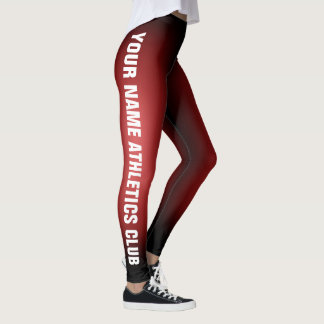 Write Your Name - Customizable Leggings Version 2