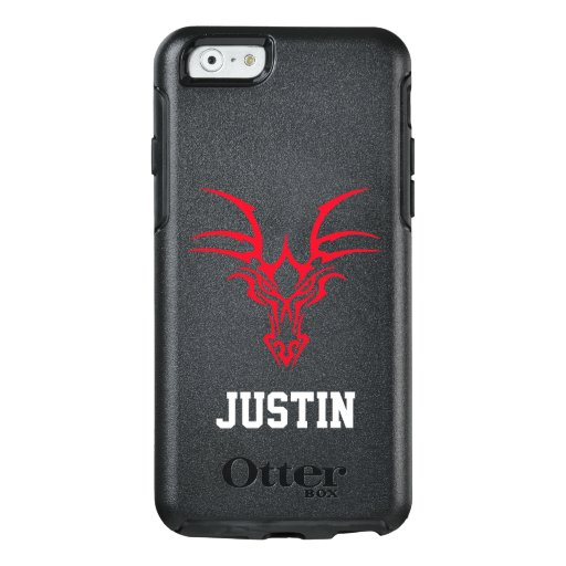 Write Your Name Fantasy Red Dragon Head OtterBox iPhone 6/6s Case