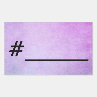 # write your own! rectangular sticker