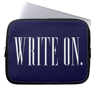 WriteOn1Blk.png Computer Sleeve