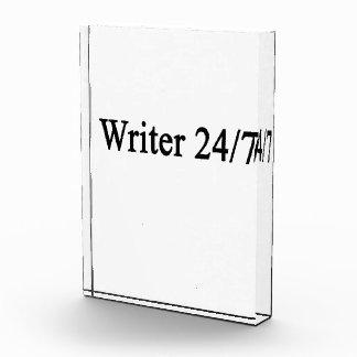 Writer 24/7 award