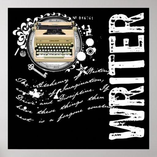 Writer Alchemy Poster