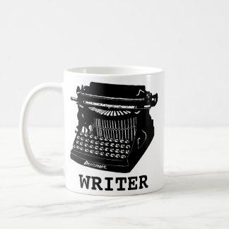 Writer Antique Typewriter Coffee Mug