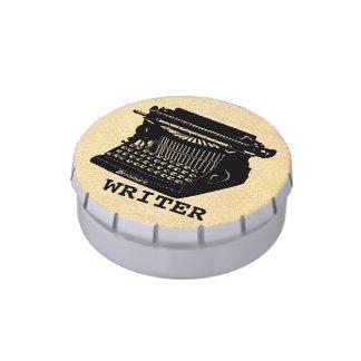 Writer Antique Typewriter Jelly Belly Tin