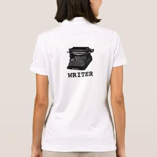 Writer Antique Typewriter Polo Shirt