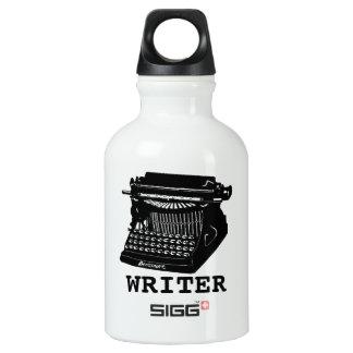 Writer Antique Typewriter SIGG Traveler 0.3L Water Bottle