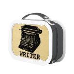 Writer Antique Typewriter Yubo Lunchbox