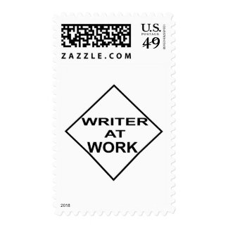 Writer at Work - Gift for Writers Postage