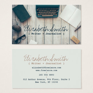 Journalist Business Cards & Templates | Zazzle