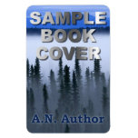 Writer / Author Promotion: Book Cover Display Rectangular Photo Magnet